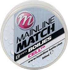Match Boilies 8mm - White - Cell
