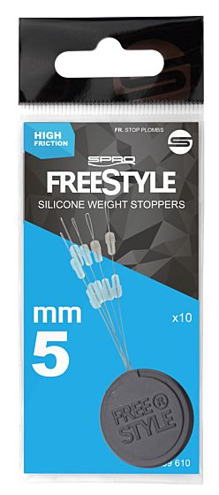 Freestyle Sillicone Weight Stoppers